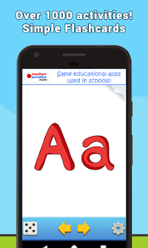 Alphabet Flash Cards Game for Learning English