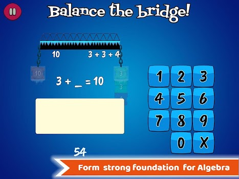 Math Balance : Grade 1 - 5 Learning Games For Kids
