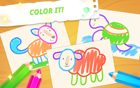 Drawing for toddlers 🎨 coloring games for kids - by GoKids ...