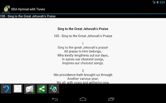 SDA Hymnal with Tunes