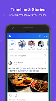 hike messenger (News, Content & Messaging)