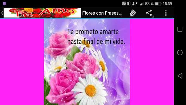 Flores Con Frases De Amor By Creative Image Apps Entertainment