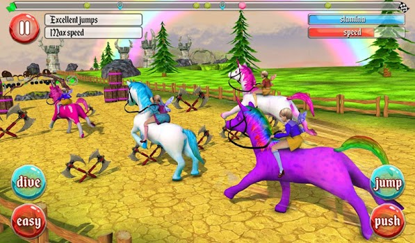 Ultimate Unicorn Dash 3D