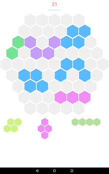 play hexagon a free online game on kongregate - 219×350