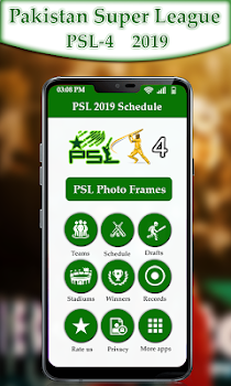 PSL 2019 Schedule: PSL 2019 Photo Frames