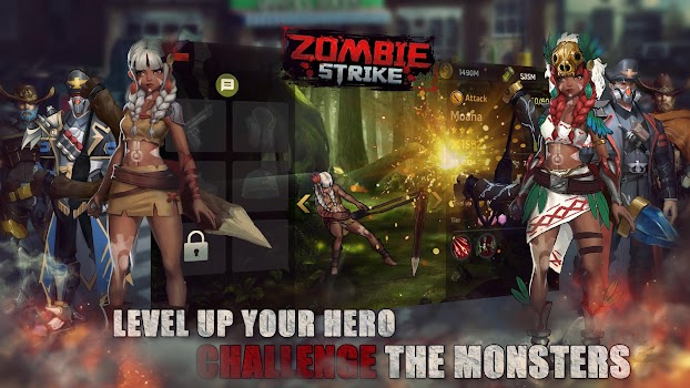 Zombie Strike : The Last War of Idle Battle (SRPG)
