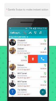 Call log Analyzer -ProVoxer ,Call History,Contacts