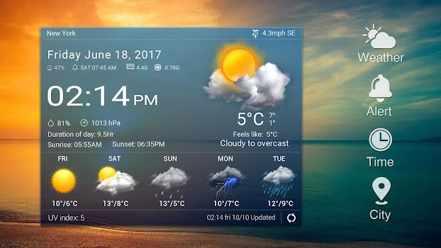Today Weather& Tomorrow weather app⚡