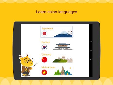 Learn Korean, Japanese, Chinese, Spanish, French +