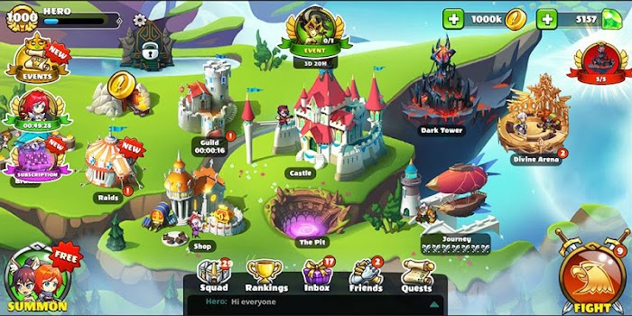 Mighty Party: Clash of Heroes
