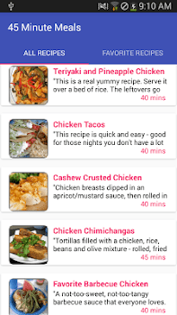 45 minute mealsfree recipe app by amin and co food drink 45 minute mealsfree recipe app forumfinder Gallery