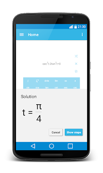 MalMath: Step by step solver