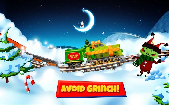 North Pole Express Christmas Train Set 35 Pieces - Remote Control -  Includes: Locomotive, Coal Tender, Elves Car, Box Car, and Caboose, 7 Road  Signs, ...