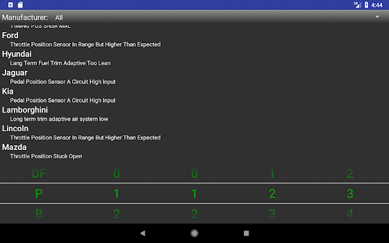 OBDII Trouble Codes Lite - by NoM - #13 App in OBD (On Board