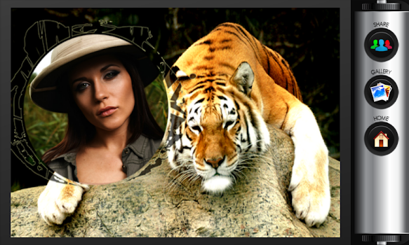 Tiger Photo Frames - by Latest Photo Frames - Photography Category ...