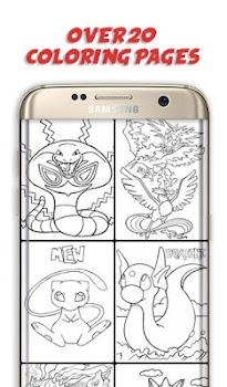 Color That Pokemon - Free Coloring Book App - by Luminaire Games ...