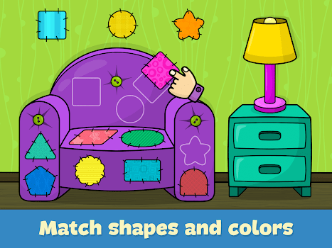 Shapes and Colors – Kids games for toddlers