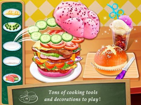 ... School Lunch Box Food Cooking & Maker - Chef Game