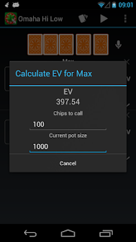 Free Poker Calculator