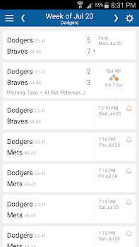 Dodgers Baseball: Live Scores, Stats, Plays, Games