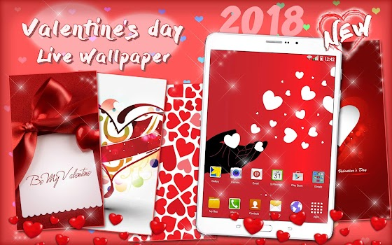 ... Valentines Day Live Wallpaper 💖 Love Background ...