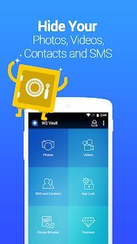 Vault-Hide SMS,Pics & Videos,App Lock, Free backup
