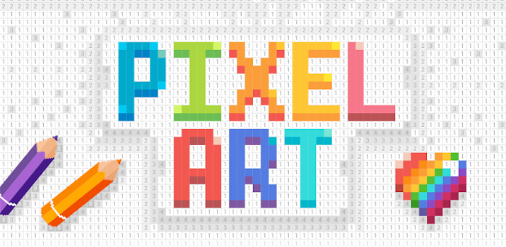 Pixel Art Color by Number by Easybrain Puzzle Games Category