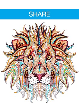 Free Adult Coloring Book App | Animals 🦁🐼🐶