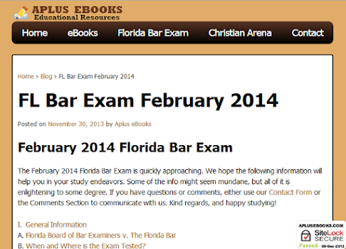 florida bar exam february 2014 essays July 2001 and february 2002 florida bar examinations essay questions and selected answers part i of this publication contains the essay questions from the july 2001 and february 2002 florida bar examinations and one selected answer for  florida board of bar examiners.