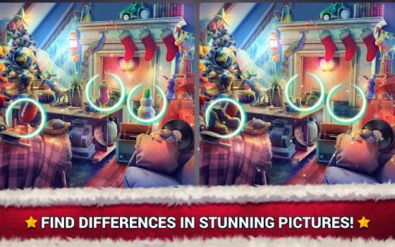 Find the Difference Christmas – Spot It