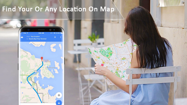 Route Finder, Voice Driving Navigation
