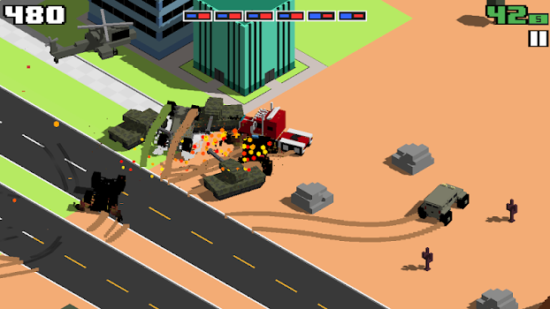 Smashy road wanted by bearbit studios bv action games smashy road wanted publicscrutiny Image collections