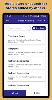 Shopping and Grocery List App - Speed Shopper - by Speed