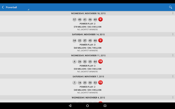 Lotto Results Premium - Lottery Games in US