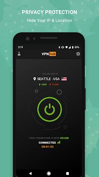 Free VPN - VPNhub for Android: No Logs, No Worries