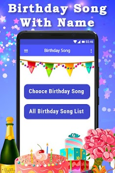 Video Screenshots Birthday Song With Name