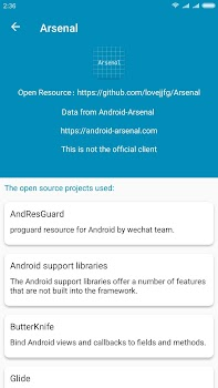 Android Arsenal - by lovejjfg - Libraries & Demo Category - 3