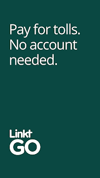 LinktGO. Pay for tolls with just your phone.