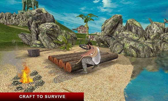 Lost Island Raft Survival Game