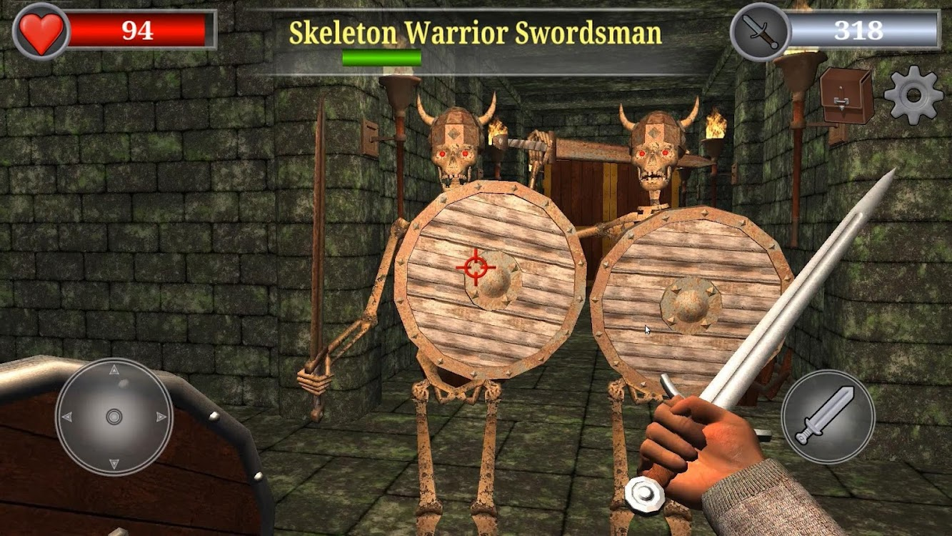Old Gold 3D: Dungeon Quest Action RPG