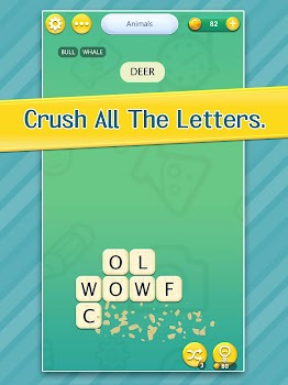 Wordament by microsoft corporation word games category 6 crush letters search word ccuart Image collections