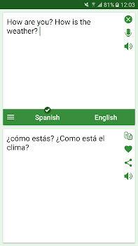 Spanish - English Translator