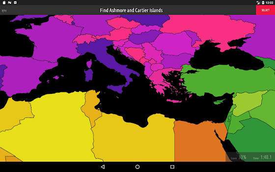 Blank map quiz by very nice apps educational games category blank map quiz gumiabroncs Gallery