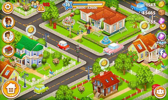 Cartoon City: farm to village - by foranj - Casual Games Category ...