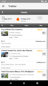 Trabber: Flights, Hotels and Cars Search Engine