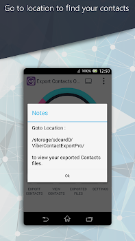 Export Contacts Of Viber Pro