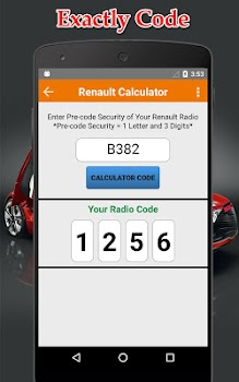 Related Apps: Radio Precode Cal For Renault - by OBD High