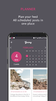 Garny - Preview Instagram feed