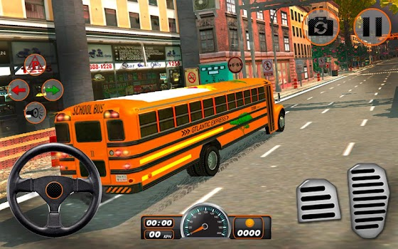 High School Bus Driving 3D