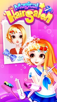 Magical Hair Salon: Girl Makeover